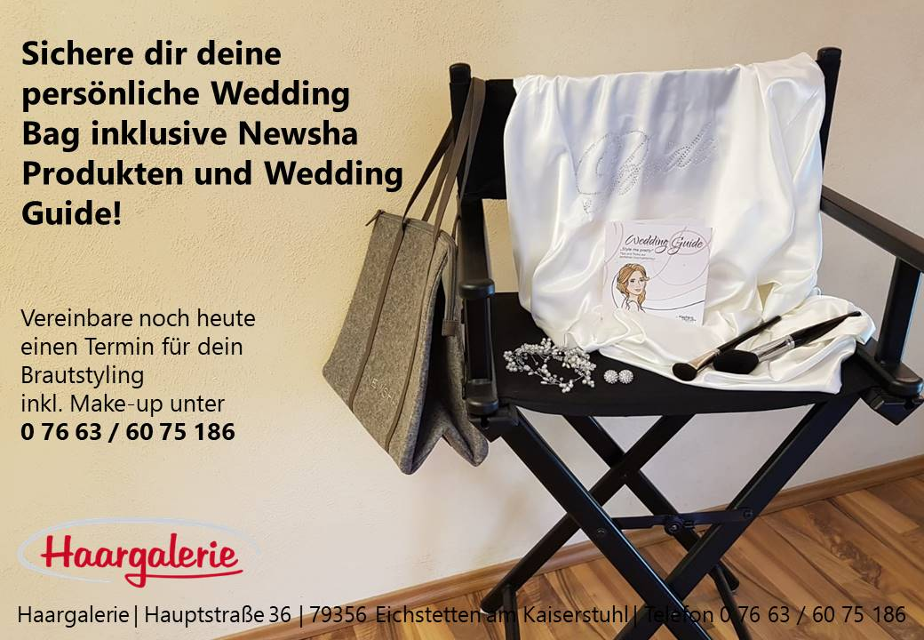 Werbung_Wedding Guide Haargalerie
