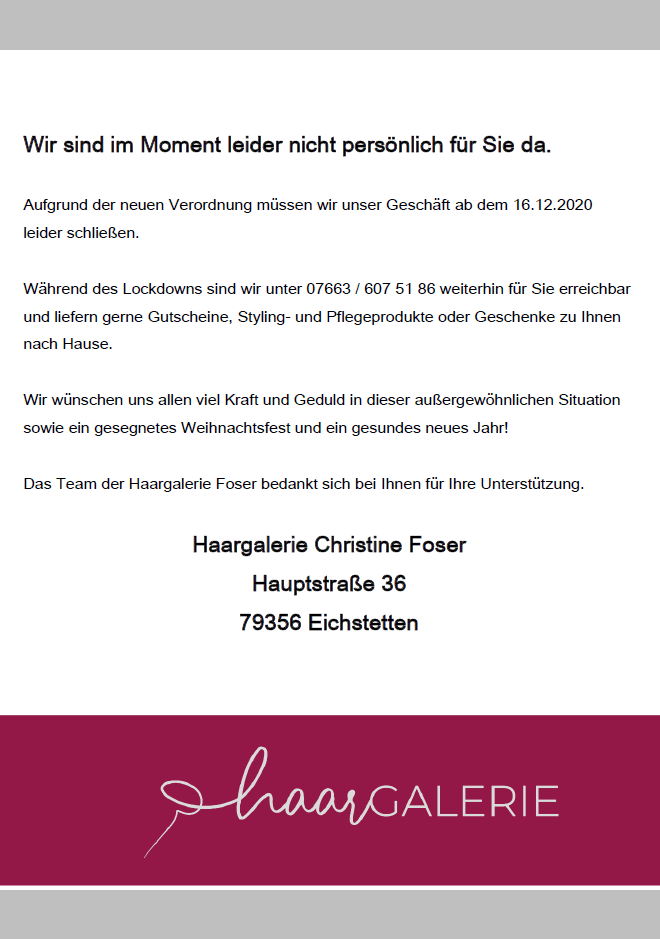 Haargalerie, Christine Foser, Eichstetten, Kaiserstuhl, Freiburg, Newsha, Nachhaltigkeit, Nachfüllbar, Styling, Produkt, Friseur, Hair, Styling, ghd, sexyhair, Malu Wilz, your, Kosmektik, Make-up